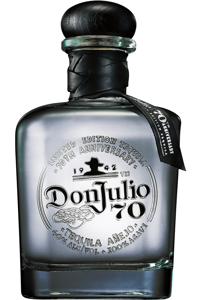 Bottle of Don Julio 70® Añejo Claro Tequila