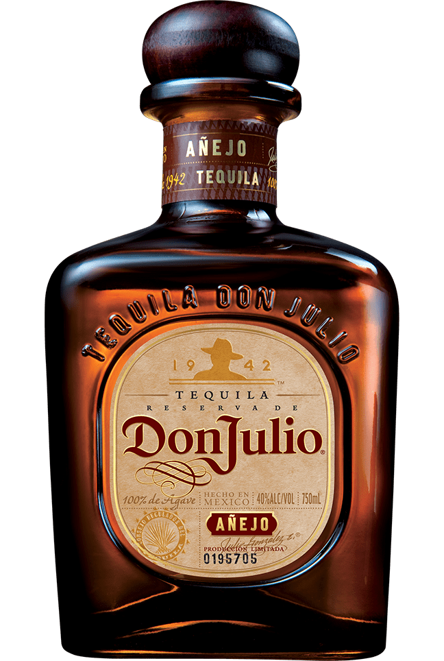 Bottle of Don Julio® Añejo Tequila