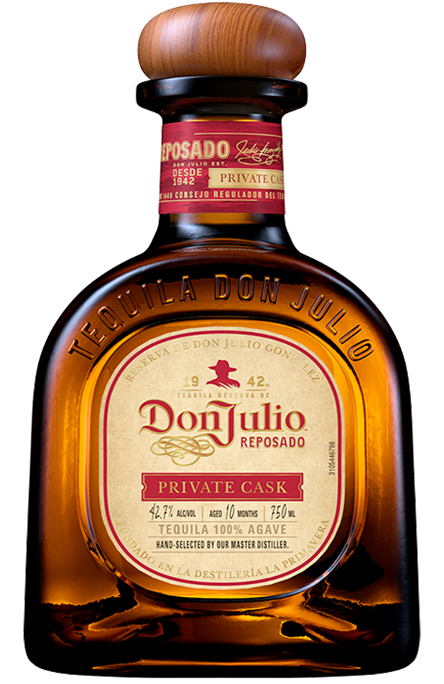 Bottle of Don Julio Reposado Private Cask
