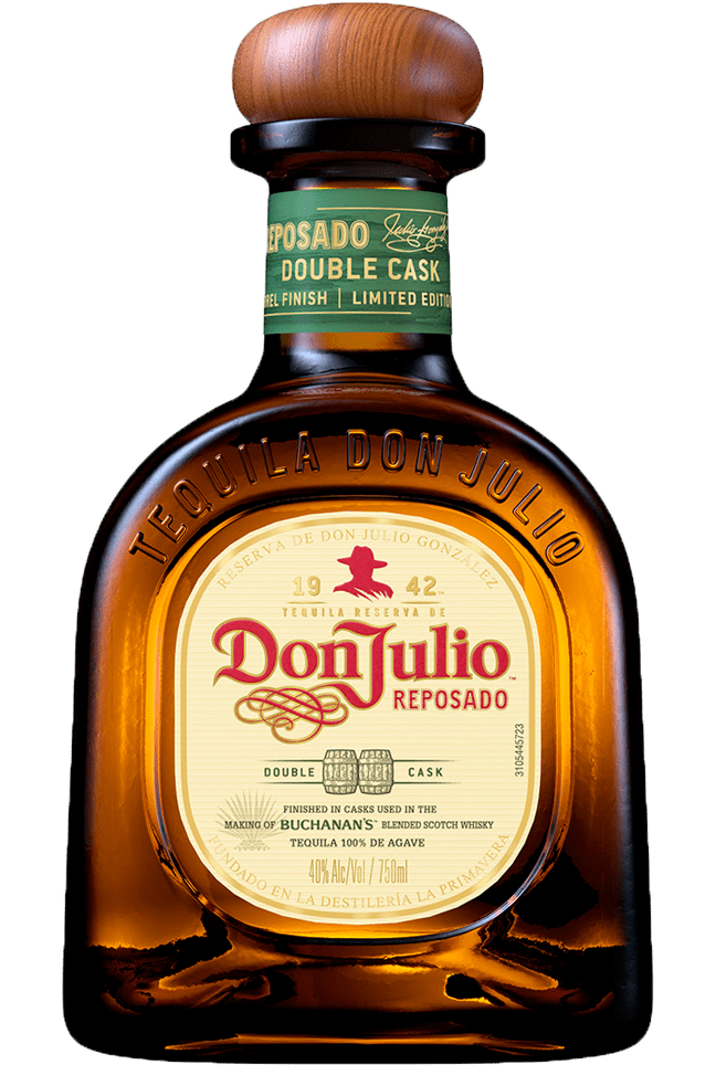 Bottle of Don Julio Reposado Double Cask