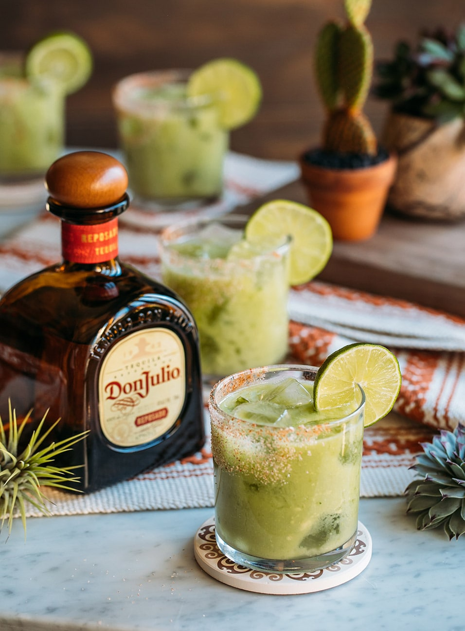 Avoketo Margarita made with Don Julio Reposado Tequila