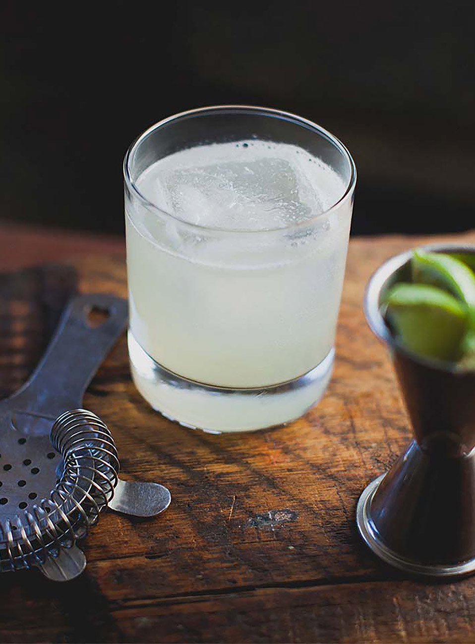 Blanco Margarita drink made with Don Julio Blanco Tequila