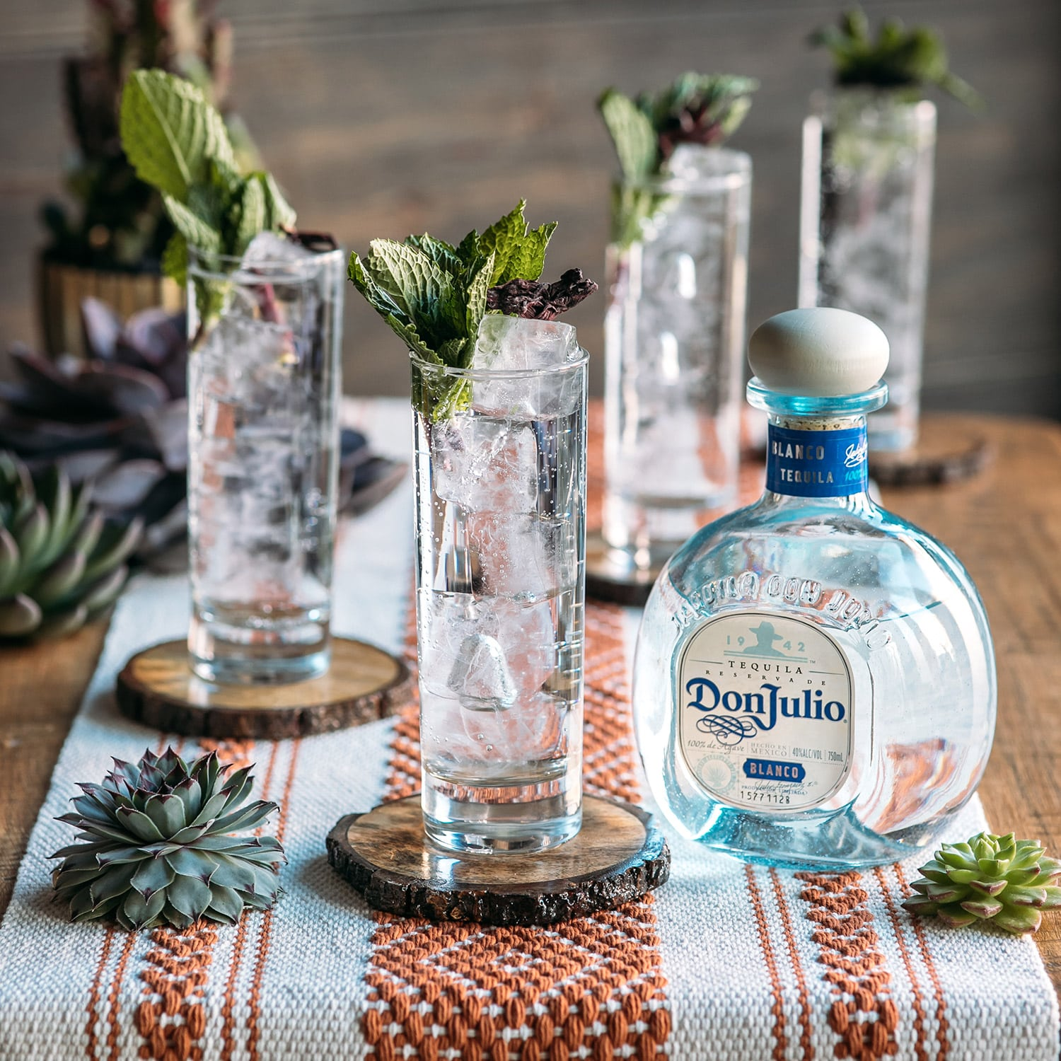Blanco Soda drink made with Don Julio Blanco Tequila