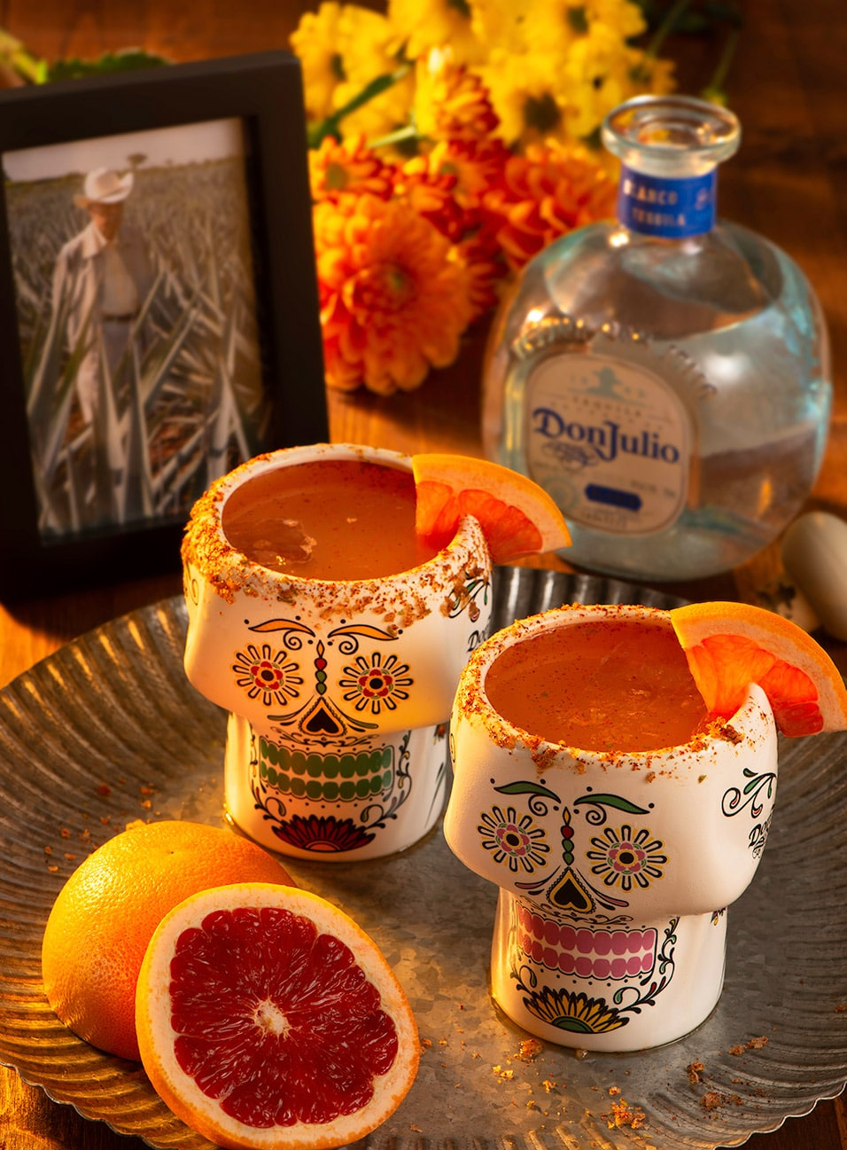 Blood Orange cocktail drink made with Don Julio® Blanco Tequila