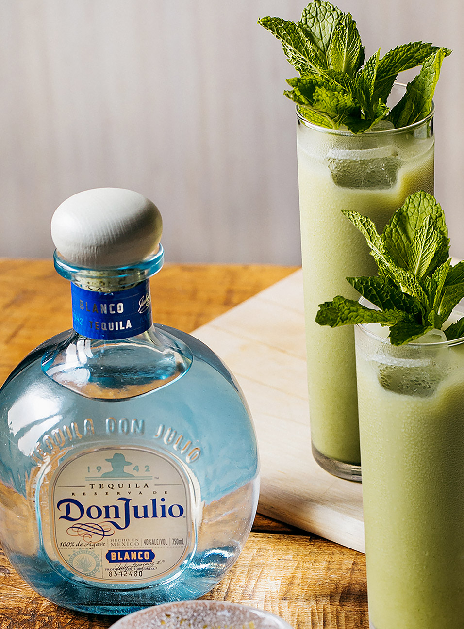 Matcha Green Tea Cocktail made with Don Julio Blanco Tequila