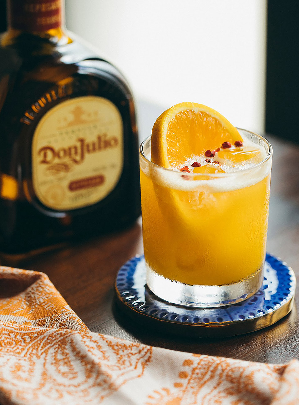 Puesta de Sol Cocktail made with Don Julio Reposado Tequila