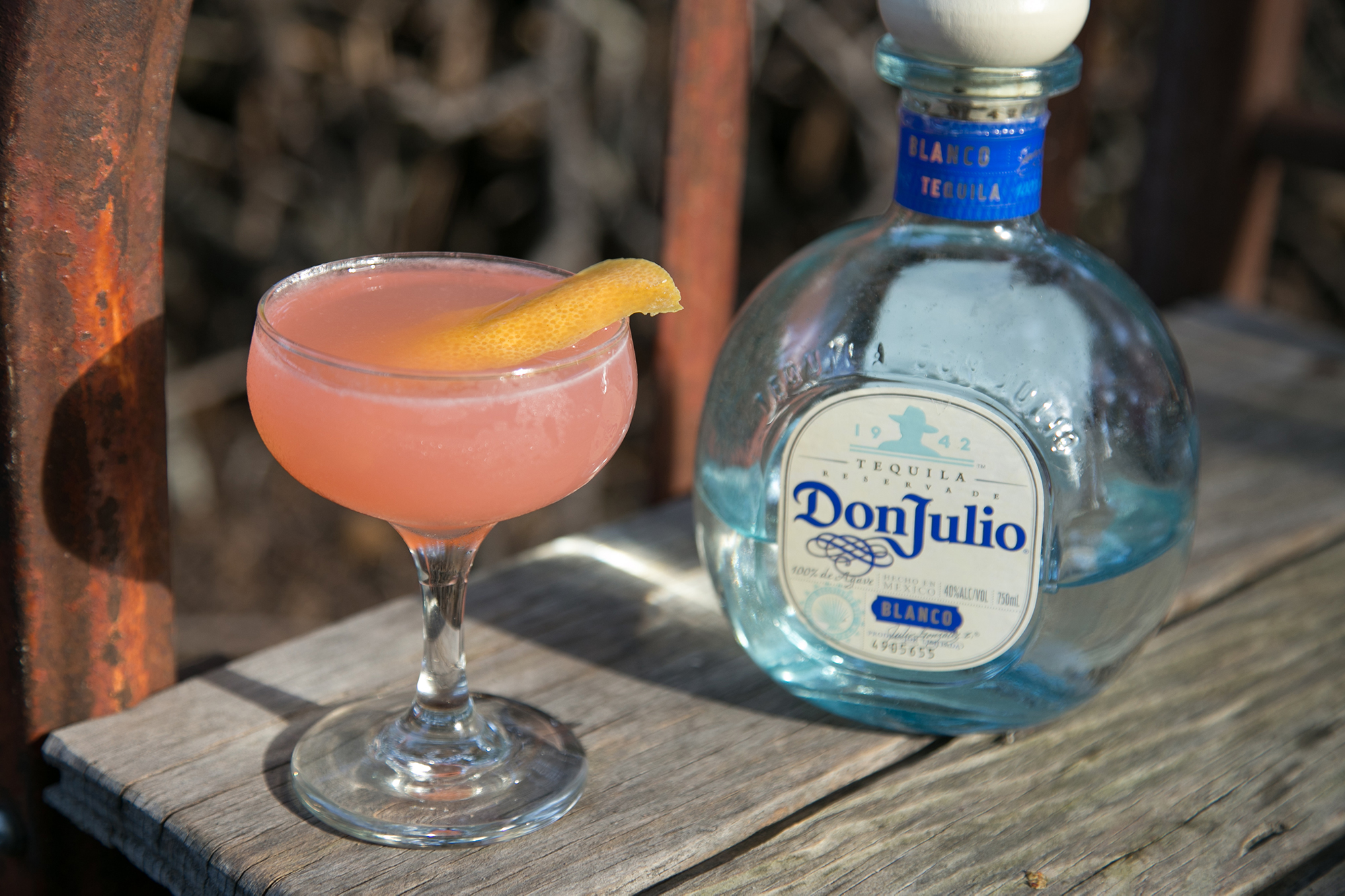 Beet Margarita made with Don Julio Reposado Tequila