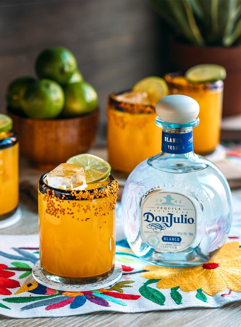 Turmerican Cocktail made with Don Julio Blanco Tequila